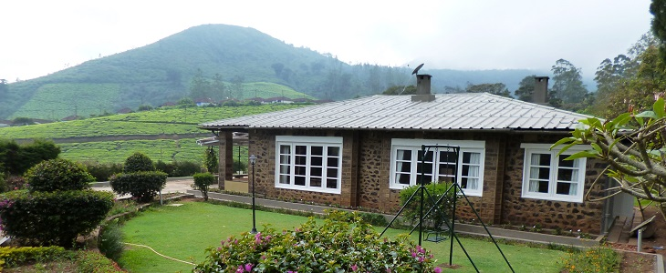 Cloud Mountain Bungalow at Meghamalai- Lakes and hills, in a quaint, serene atmosphere with birds chirping, an occassional trumpet of an elephant, the musical tones of the Malabar Whistling Thrush scintillate the air!